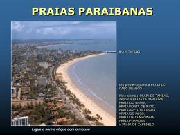 praias paraibanas