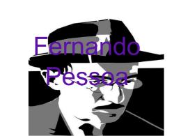 Fernando Pessoa - escola estadual dr martinho marques