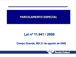 Reduções para parcelamento - CRC-MS