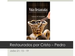 Restaurados por Cristo