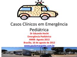 Casos Clínicos em Emergência Pediátrica