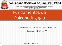 Slide 1 - WEJ - Consultoria e Ensino Pedagógico