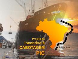 Projeto de Incentivo à Cabotagem