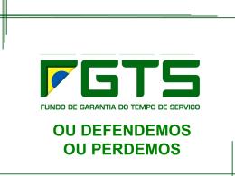 MUDANÇAS DO FGTS Curitiba OUT 2015