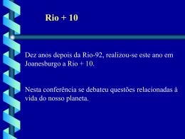 AULA3_2008_RIO +10 - Agronomia - Cassilândia
