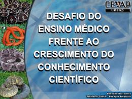 1-Desafio do ensino médico frente ao crescimento do conhecimento