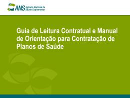 Guia de Leitura Contratual e Manual de Orientação para