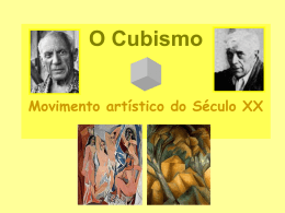 Cubismo - Ensinar EVT