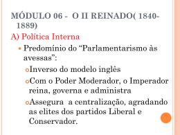 MÓDULO 06 - IMPÉRIO
