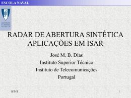 Apresentação sobre SAR e ISAR - Instituto de Telecomunicações