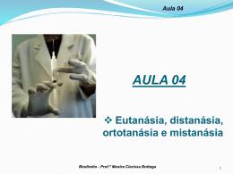 Aula 04 - Professora Mestra Clarissa Bottega