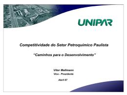 Apresentação Caminhos para o Desenvolvimento (UNIPAR