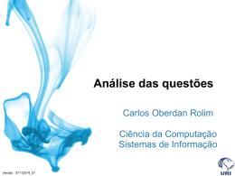 6- ENADE 2008 – Questão 35