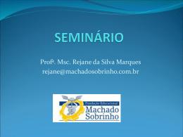 SEMINRIOcoesoecoerncia - Faculdade Machado Sobrinho