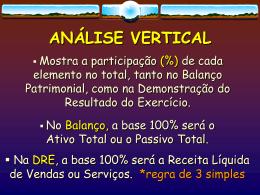 BALANÇO PATRIMONIAL - Uni