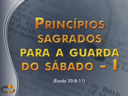 1503 principios sagrados para a guarda do sabado 1
