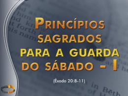1503 principios sagrados para a guarda do sabado 1