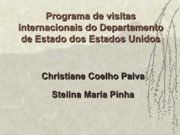 Programa de visitas internacionais do Departamento de Estado dos