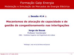 Mecanismos de alocação de capacidade de interligação
