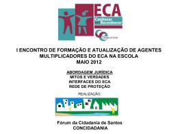 Flávia Rios - Fórum da Cidadania de Santos