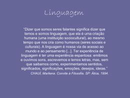 Linguagem - Marcelinas