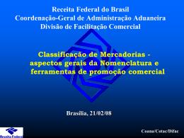 Apresentação- 41ª reunião-Classif de Merc.