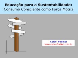 Educação para sustentabilidade