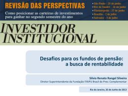 Silvio Rangel - Fundação Itaipu (Fibra)
