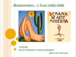 O_Modernismo_1_Fase_1922_1930