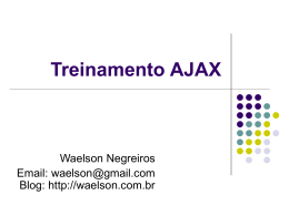 Treinamento Ajax - Aula 2