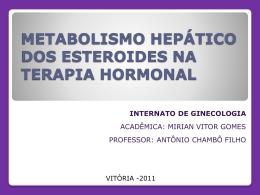 Apresentação Metabolismo Hepático dos - GO