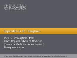 Dependência - Global Tobacco Control
