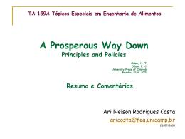 Prosperous Way Down