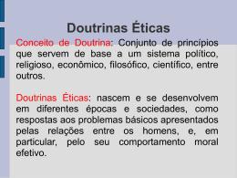 Doutrinas Éticas