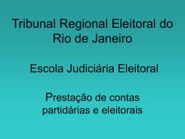 Prestação de contas Eleições 2012