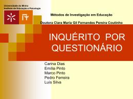 PPT - inquérito