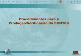 Procedimentos para a Produção/Verificação da 10K