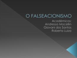 O FALSEACIONISMO
