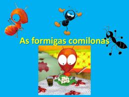 As formigas comilonas - Escola da Corujeira