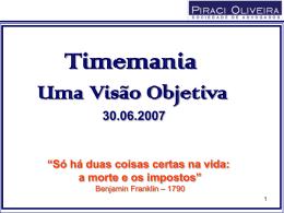 Lei - Piraci Oliveira - Sociedade de Advogados