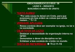 09/04/2012 buscando a mente de cristo