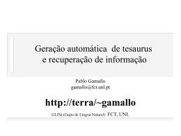 Tesaurus = Ontologia