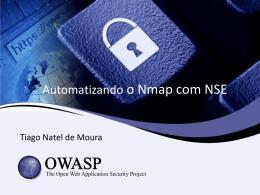 OWASP Presentation Template