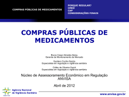 Curso sobre CMED e CAP - TCE-RO