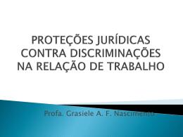 Proteção contra discriminação