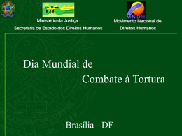 Campanha Nacional Permanente Contra a Tortura