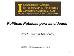 Conferencia Nacional de Políticas Públicas Contra