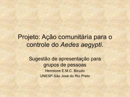 Projeto: Ação Rotária contra a Dengue
