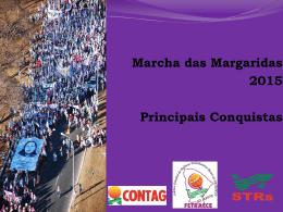 Principais conquistas das Marchas das Margaridas