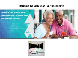 10 – Educafro Rio – Reunião Geral Outubro 2015 v1